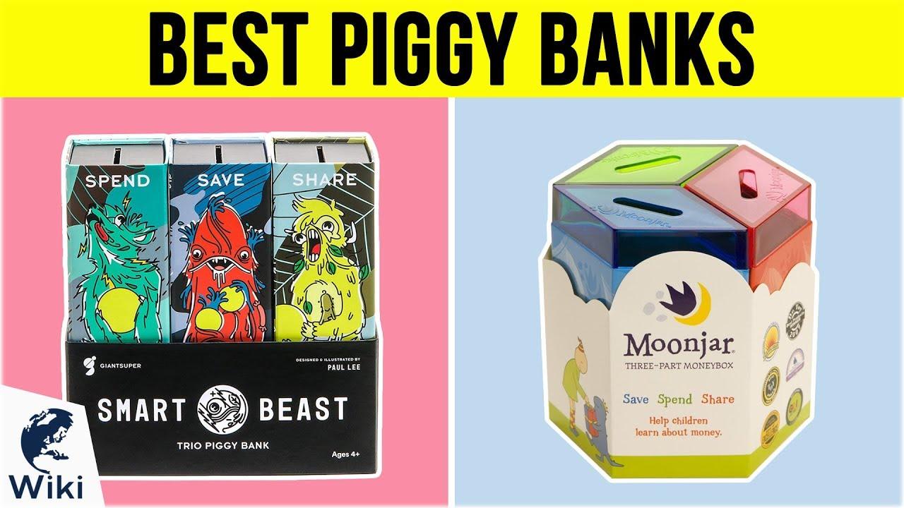 10 Best Piggy Banks 2019