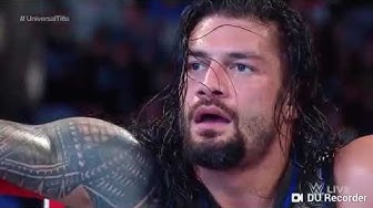 Satisfaya song by imran khan with roman reigns fight