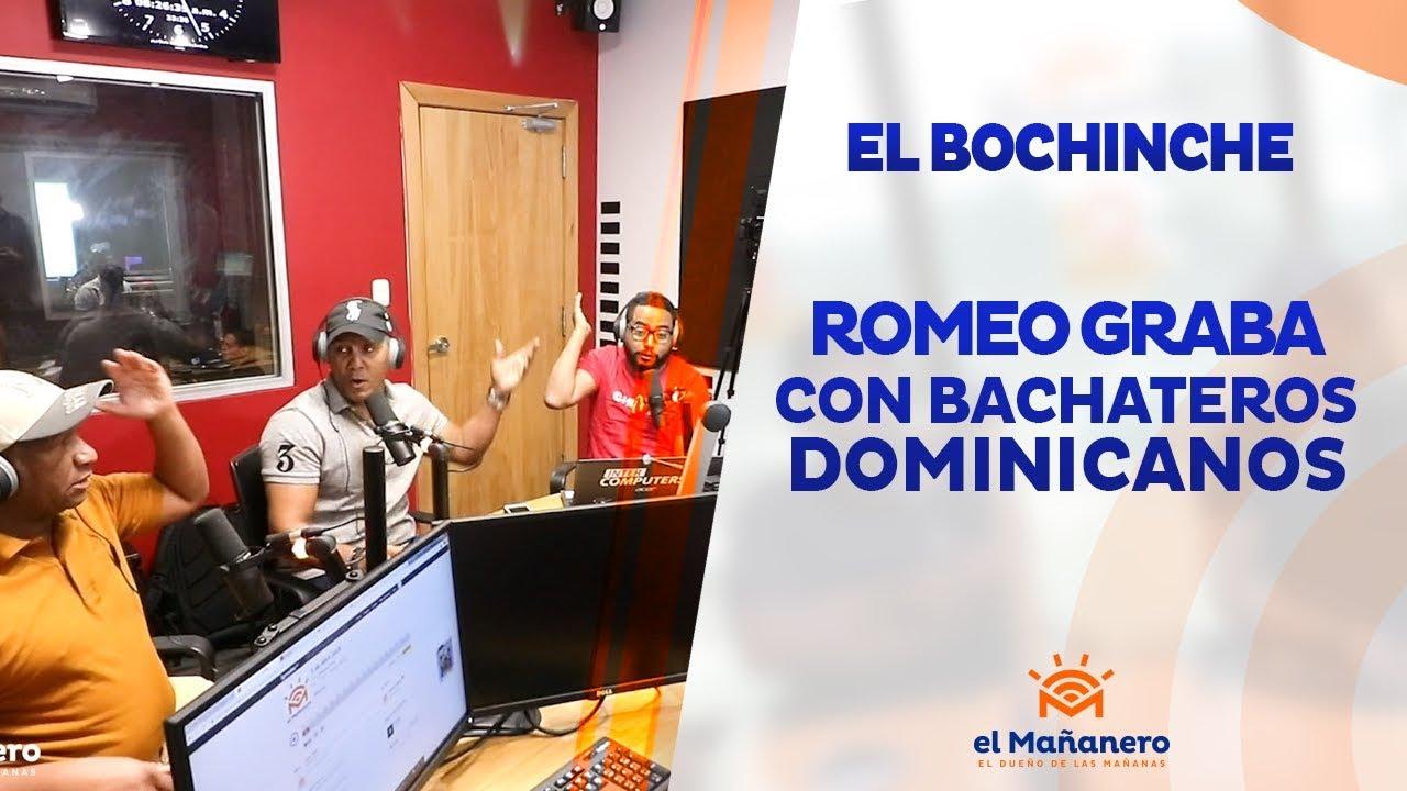 Romeo Santos graba con bachateros dominicanos