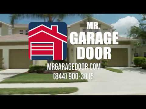 Introducing Your New Garage Company: Mr. Garage Door