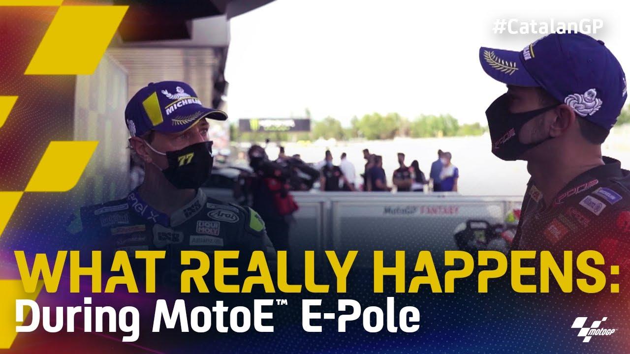 What Really Happens: during MotoE E-Pole
