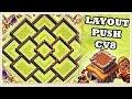 CLASH OF CLANS- Layout de PUSH ! (CV8)