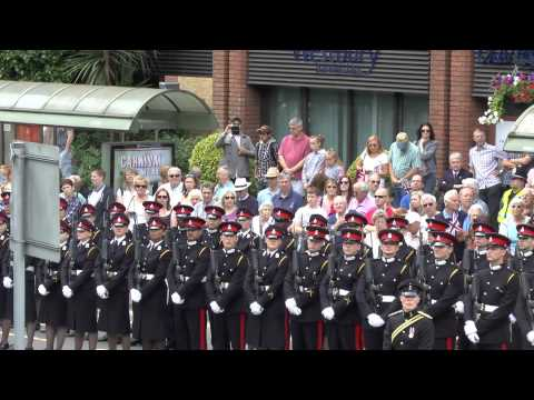 Royal Military Academy Freedom of the Borough Parade