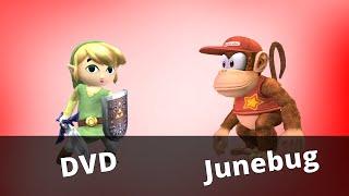 WTT2 - Junebug (Diddy Kong) vs DVD (Toon Link) - Project M