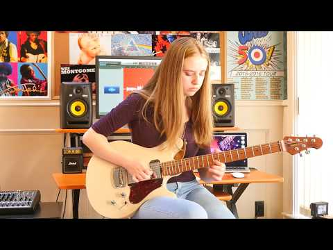 -Isn't She Lovely- Guitar Cover by Ayla