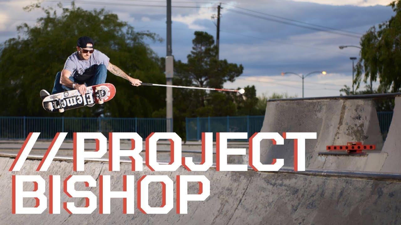 Zappos helps blind skater Jason Bishop get back to tricks