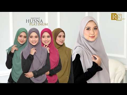 INSTANT HUSNA XL - HEAVY CHIFFON BY RAFEEDA