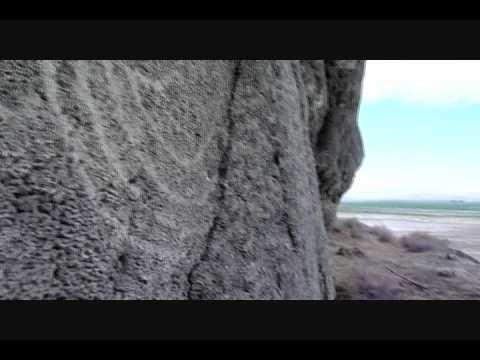 Leonard's Cave Petroglyphs - Lovelock, Nevada