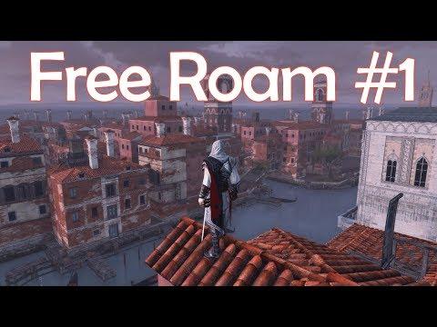 PS4 Assassin's Creed II Venice Free Roam #1