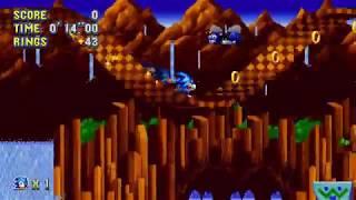 Sonic Mania - Green Hill 2 (Sonic) Speedrun in 28.26