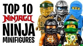Top 10 LEGO NINJAGO Ninja Minifigures!