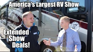 Thanks for Coming to America's Largest RV show in Hershey, PA