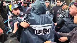 Միջադեպ՝ ոստիկանության և ցուցարարների միջև