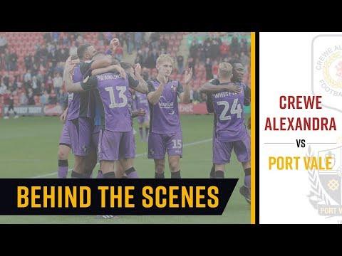 BEHIND THE SCENES: Crewe Alexandra