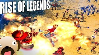 ALIN Genie Army Fantasy Real Time Strategy Game - Rise of Legends Gameplay