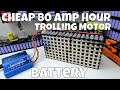 Trolling Motor recycled 80ah 18650 battery pack