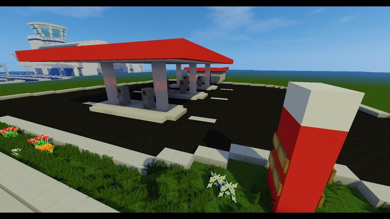 la ville moderne station essence 40 youtube. Black Bedroom Furniture Sets. Home Design Ideas