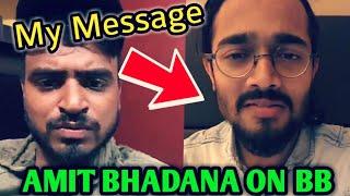 Amit Bhadana Talks About BB Ki Vines *LIVE* | Message For Bhuvan Bam By Amit Bhadana | 10M Race |
