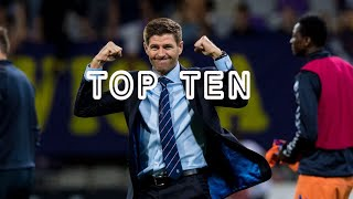 Rangers' Top 10 moments of the 2010's!