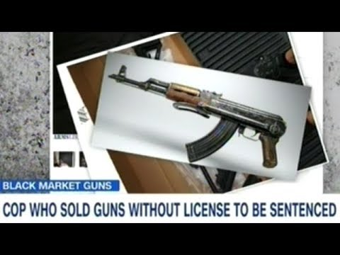 Washington DC Police Officer BUSTED Selling Guns Out Of The Trunk Of His Car!