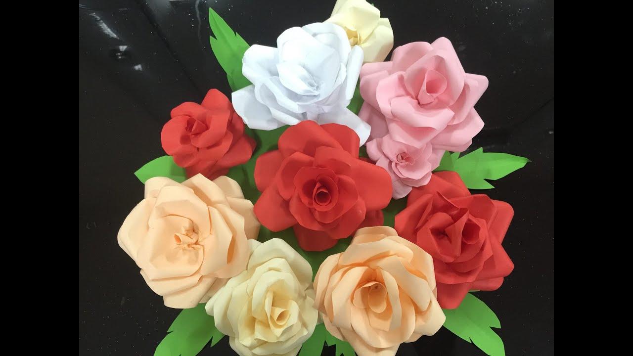 A4 Paper Flower Tachrisaniemiec