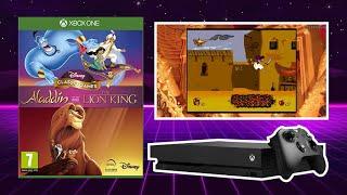 Aladdin - Sega Megadrive Gameplay - Disney Classic Games  Aladdin and The Lion King