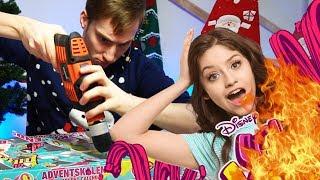 #6 Schön die Kinder zu Weihnachten abziehen - Disney SOY LUNA Adventskalender | Malternativ