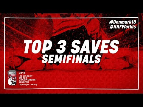 Top 3 Saves of the Day - May 19 2018 - #IIHFWorlds 2018 - 동영상