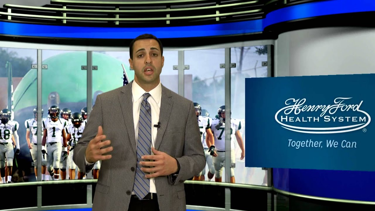 Henry Ford Sports Medicine Minute - ACL Injuries with Dr  Bill Moutzouros