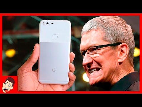 Google Pixel - убиица iPhone 7?  Зачем Google создала iPhone на Android?
