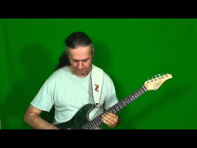MARCELLO ZAPPATORE plays ROBBEN FORD's solo on UP THE LINE