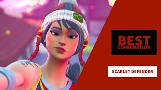 Best Combos | Scarlet Defender | Fortnite Skin Review