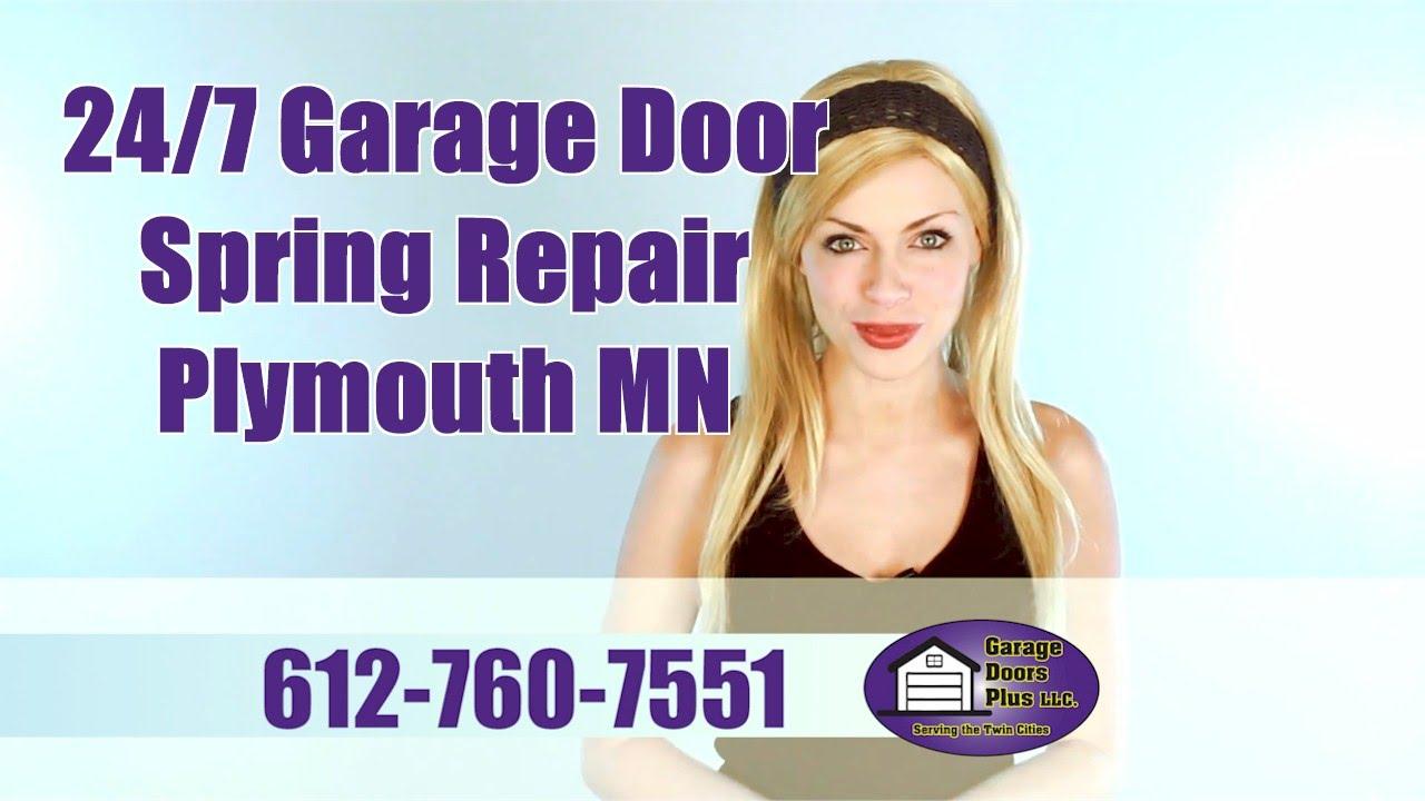 247 Garage Door Spring Repair Plymouth Mn Garage Doors Plus Llc