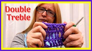 How to Double Treble Crochet l Crochet Minute l #Shorts screenshot 5