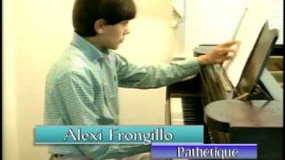 Hagopian Piano Recital Preview - Alexi Frongillo - Pathetique