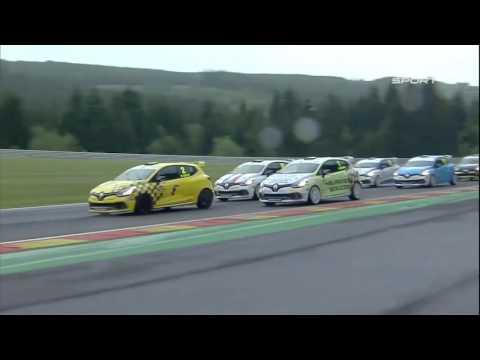 Coupe de France Renault Clio Cup : SPA course 2 (2015)