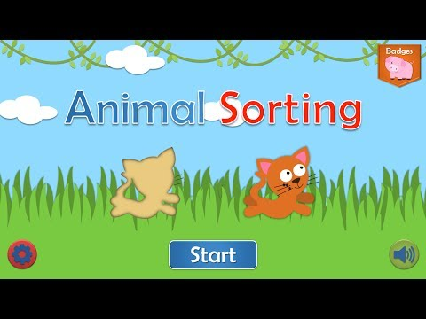 Animal Sorting Game for iPhone