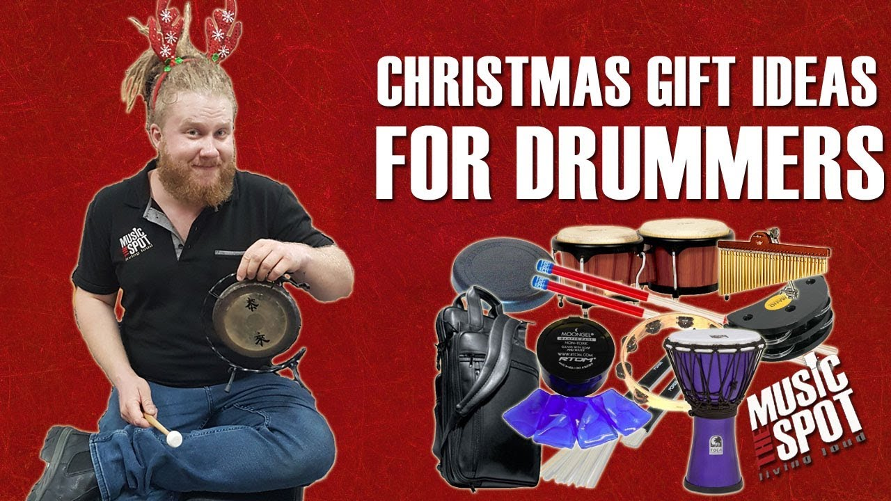 Christmas Gift Ideas for Drummers - YouTube