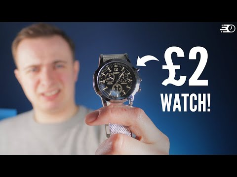 I Bought The Cheapest Watch On Amazon - How Good (Or Bad) Is It?