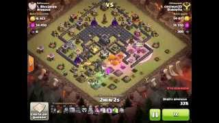how to 3 star Clash of clans - Town hall 9 (TH9) Best war base 2015 [Anti 2 stars] + Replay