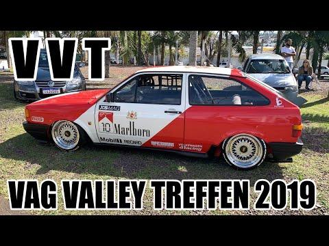 Vag Valley Treffen VVT 2019 O Encontro Volkswagen do Sul Gol Golf Parati Saveiro e Mais