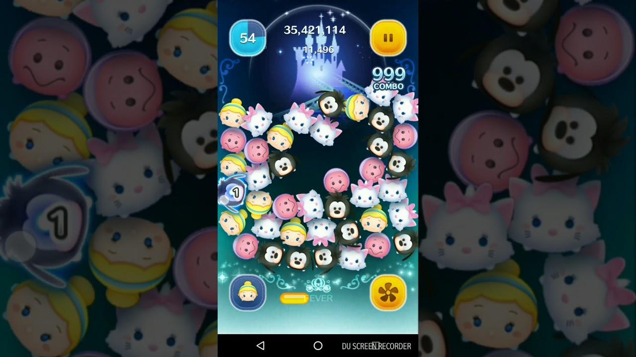 Android ツムツム シンデレラ スキル5 1億1000万点 Youtube