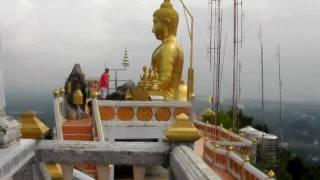 Tiger temple in Krabi (wat tham suea)