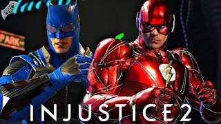 Injustice 2 Online - JUSTICE LEAGUE FLASH GOING IN!