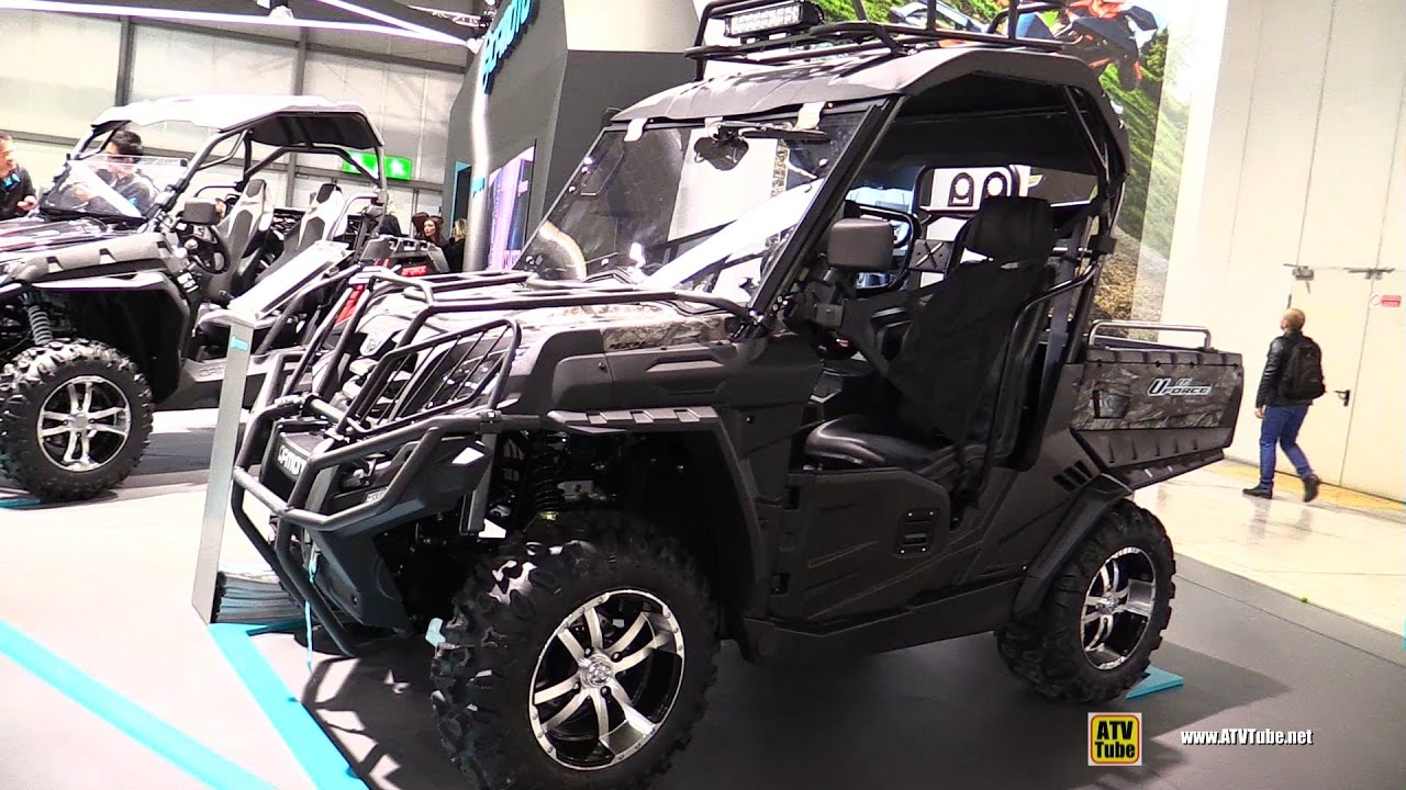 2017 cfmoto uforce 800 utility atv walkaround 2016. Black Bedroom Furniture Sets. Home Design Ideas
