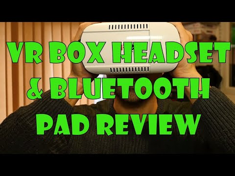 VR Box Google Cardboard Headset and Bluetooth controller Review
