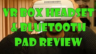 VR Box Google Cardboard Headset and Bluetooth controller Review(VR Box Google Cardboard Headset and Bluetooth controller Review I turn my phone into a mesmerising 3D headset all for the princely sum of £24!, 2016-02-09T08:30:00.000Z)