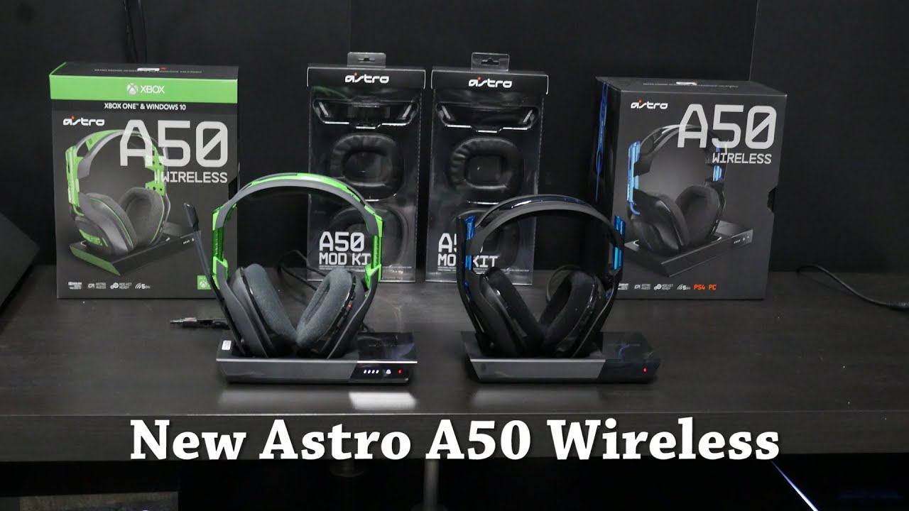 48390f24881 New Astro A50 Wireless Hands-on [E3 2016] - YouTube