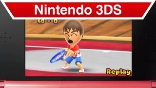 Nintendo 3DS - Mario Tennis Open Special Games Trailer