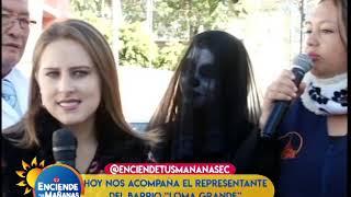 """REPRESENTANTES DEL BARRIO """"LOMA GRANDE"""" NOS CUENTAN SUS PROBLEMAS"""